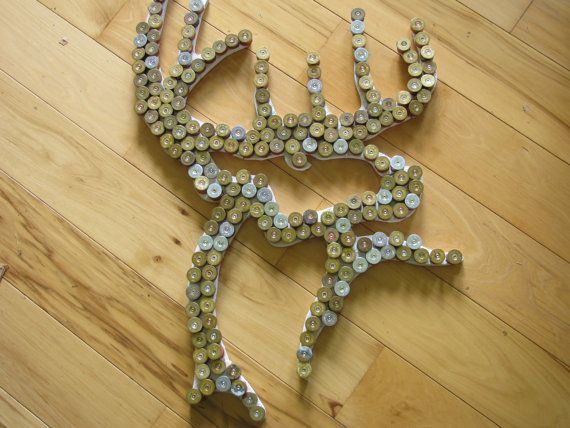 Buck Commander Shotgun Shell art wall by SilverThornDesignArt