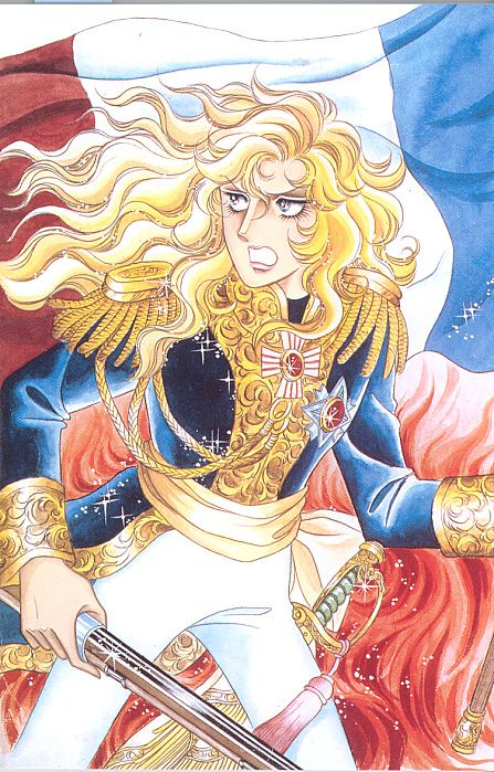 Oscar François de Jarjayes/ The Rose of Versailles