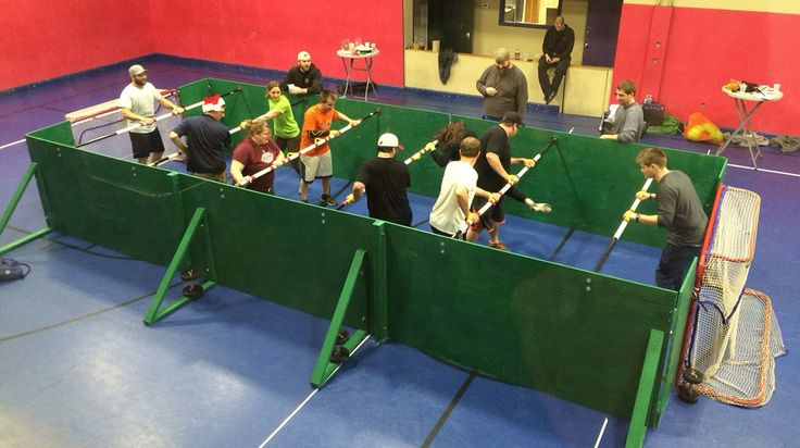 HUMAN foosball at Casco Bay Sports - Fun and quirky activities!