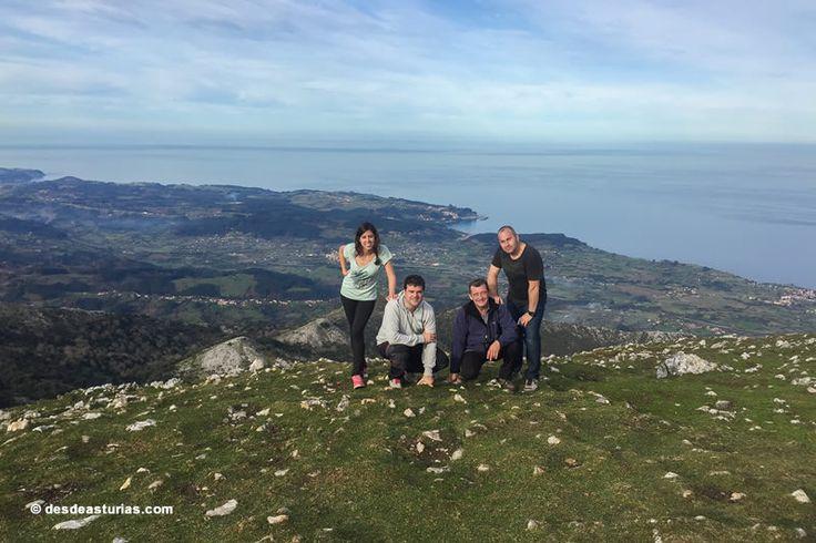 Rutas por Asturias. Subida al Picu Pienzu. [Más info] https://www.desdeasturias.com/la-sierra-del-sueve/