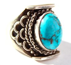 Ring SS Turquoise