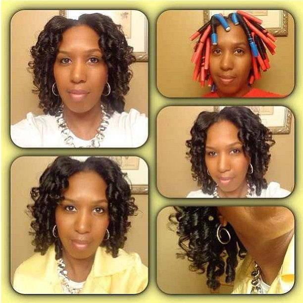 how to style permed hair 32 best images about flexi rods for hair and perms 7210