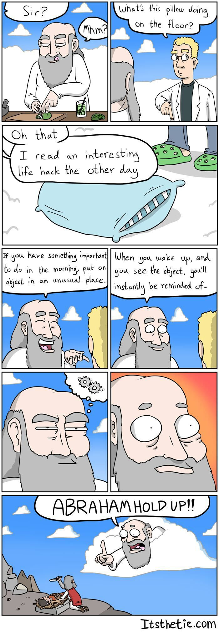 Adventures of God: Life Hack - 9GAG