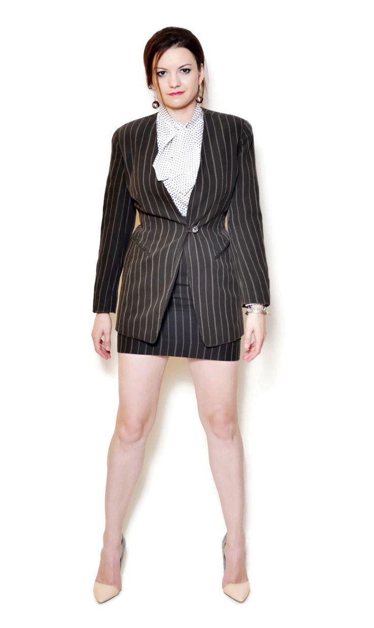 skirt suit vintage emanuel ungaro vintage US$299.95