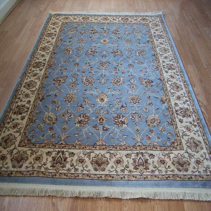 Beluchi Florence Rugs In Duck Egg Blue
