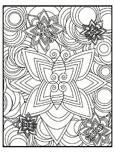 unusual coloring pages - photo #3