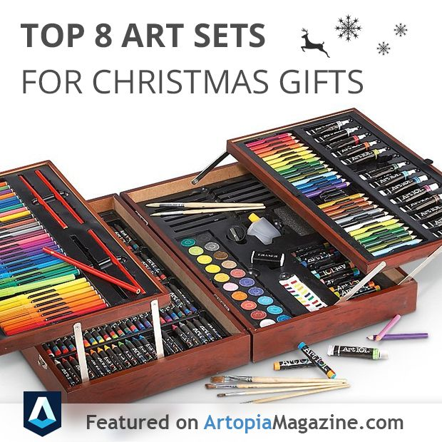 Amazing Christmas Gifts For Artists Part - 3: 9 Best Top 8 Art Sets For Gifts Images On Pinterest | Christmas Gifts,  Creative Gifts And Wood Art