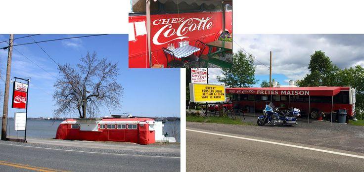 Chez Cocotte, Lanoraie  « L'autobus sur le bord de l'eau… Un souvenir d'enfance impérissable! Le lieu a changé, mais c'est toujours aussi bon! »