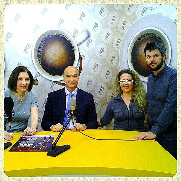 Gran Galà per la Pediatria - Dr Bellettato e Annarosa Zamboni ospiti a #CaffèEspresso #onlus #vicenza #pediatria #danza