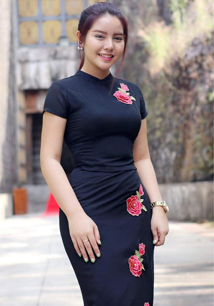Myanmar Mädchen in singapore
