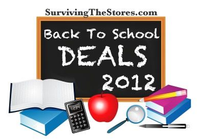 Best back to school stock-up prices at lots of stores for the week of July 22nd!