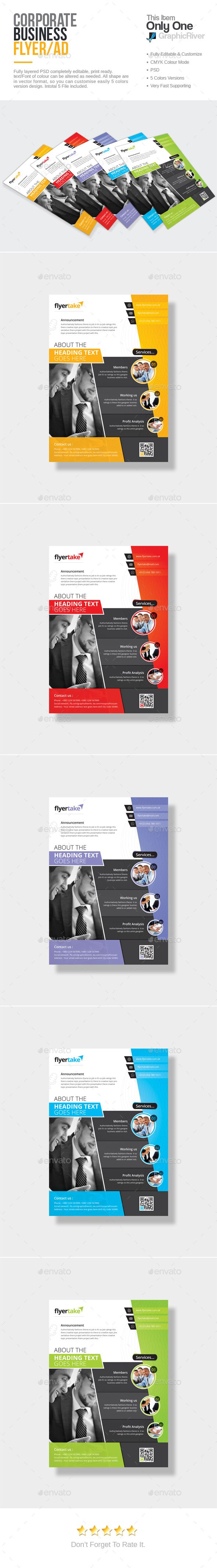 Corporate Flyer Template PSD. Download here: http://graphicriver.net/item/corporate-flyer/15417947?ref=ksioks