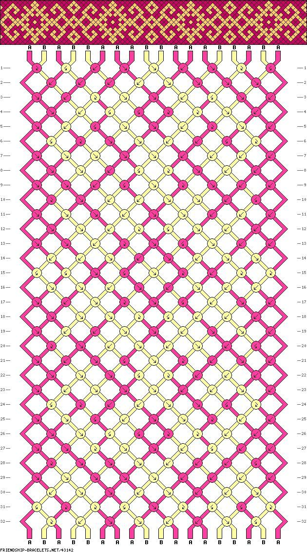 friendship bracelet patterns. looks crazy hard but also crazy cool....
