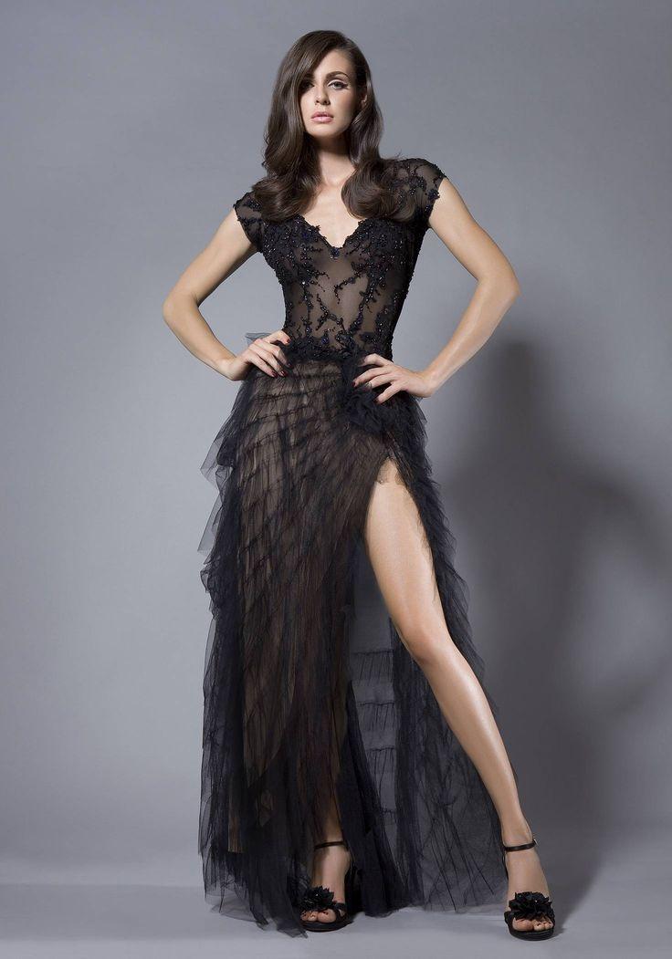 Fii la moda cu cele mai in voga rochii de seara negre