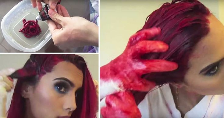 Bodmon Zaid explains how she achieves a vibrant, magenta red without bleach