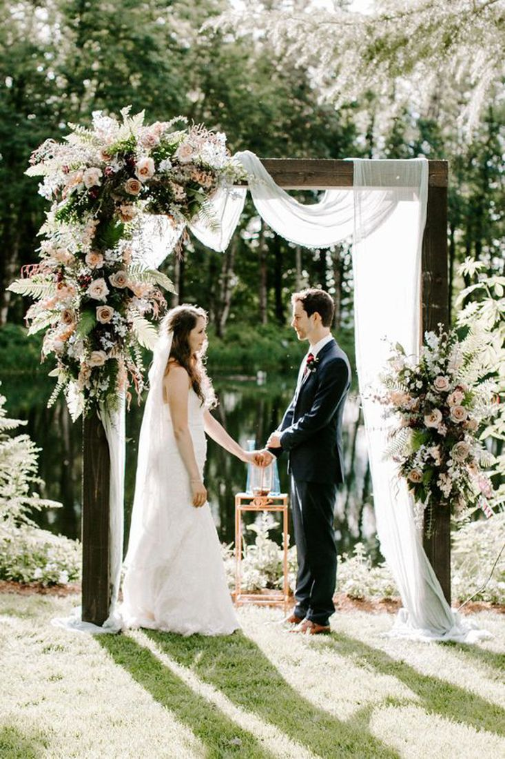 8 Unique Wedding Ceremony Arch Ideas - Orange Blossom Bride