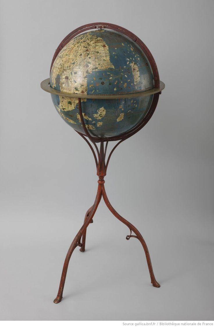 Les plus beaux globes de Gallica scanns