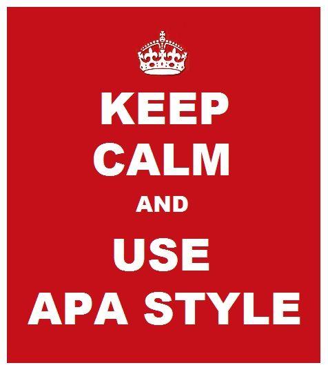 APA Writing Style Guide