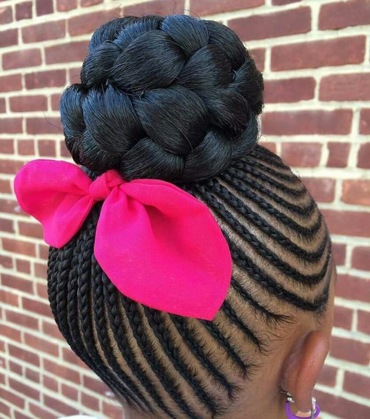 Hairstyles For Black Little Girls 17 cute and easy hairstyles for kids Find This Pin And More On Little Black Girls Hair By Cadcat81