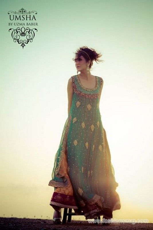 Umsha by Uzma Babar Formal Collection 2014 In Stores