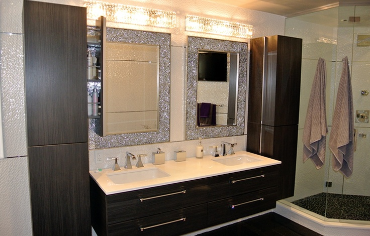 Modern Bathroom 3 3w Acrylic Led Make Up Mirror Lamp Wall: 22 Best Bathrooms Images On Pinterest