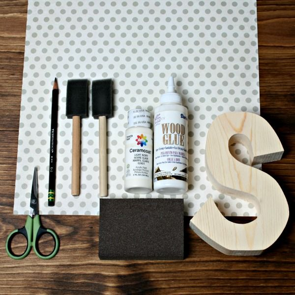 How To Decoupage Paper Without Mod Podge | The Wood Connection Blog