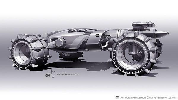 Tron: Legacy | Light Runner Design by Daniel Simon | CG Daily news