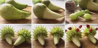 Risultati immagini per centrotavola con uva verde