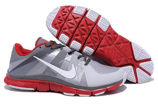 2012 Nike Free Run 5.0 V6 Men Shoes Grey Red fVtsQdSo