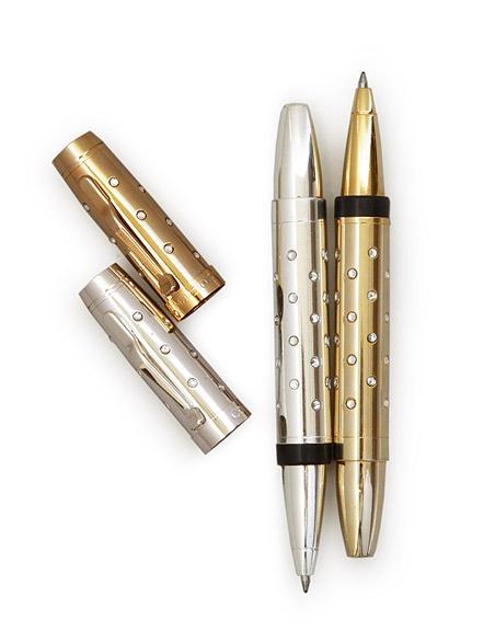 Campo Marzio Bijoux Metallic Rollerball Pens