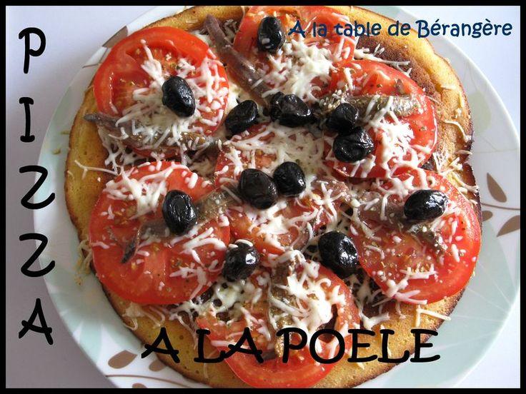 Pizza � la po�le - Recette Tupperware pour camping