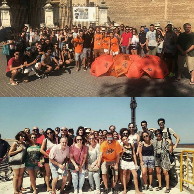 Disfruta todos los dias de los FreeTour de Pancho Tours en Sevilla y Cádiz! El Freetour más local, más real y más autentico! Tu decides el precio y nosotros te enseñamos la ciudad! ¿Te vienes mañana? 👏👣👏🌞Enjoy every day of the FreeTour of Pancho Tours in Seville and Cadiz! The Freetour is more local, realer and more authentic! You decide the price and we will show you the city! Are you coming tomorrow? #visitasguiadas #PrivateTour #TourPrivado #experienciasunicas #turismo #guidedtour…