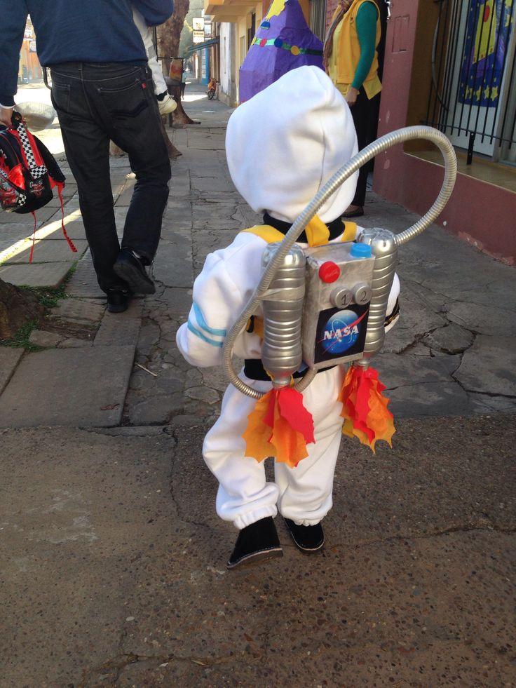Astronauta !!! Traje de astronauta.