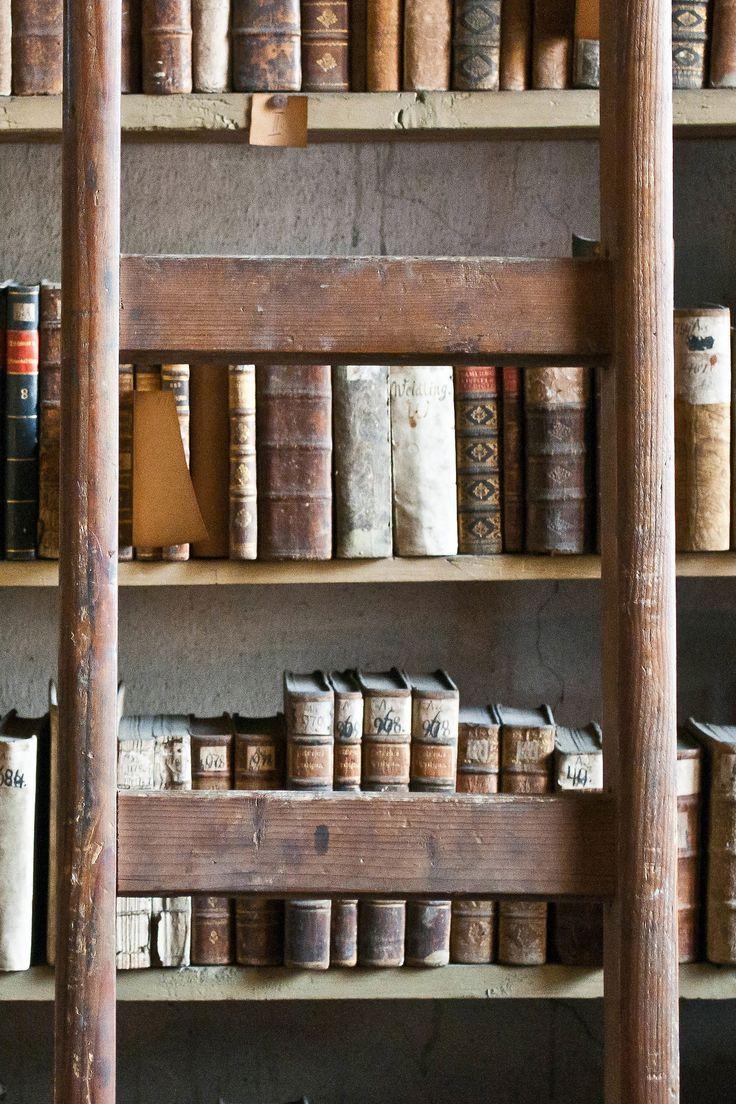 Rare books, Evangelical library, Slovakia.