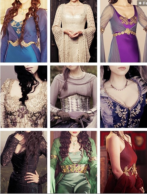 Don't deny the fact that you wanted every single one of her outfits!!! I loved her. Want the green and dark purple most!