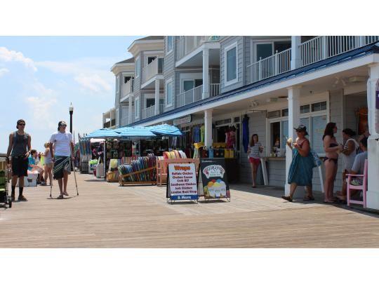 Bethany Beach boardwalk shops