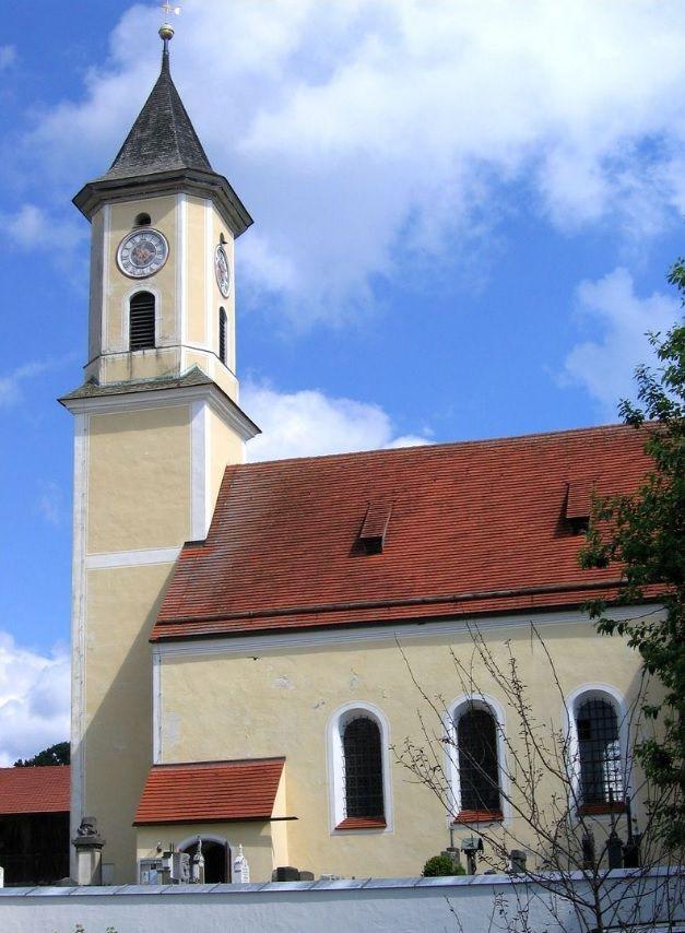 Egling-Deining, Pfarrkirche St. Nikolaus