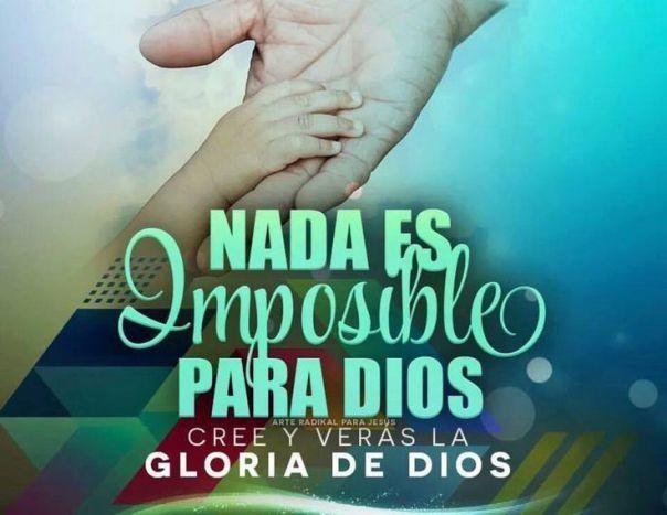 Cree en Dios con toda tu alma y veras su gloria manifestarse en tu vida!!!