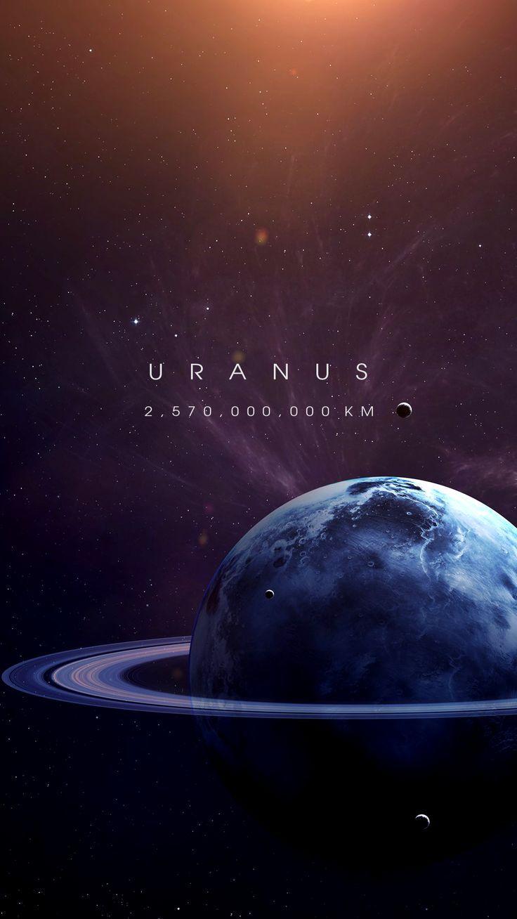 Uranus Wallpaper space
