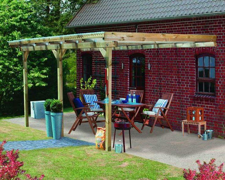 73 best Abris, Pergolas, Cabanes OUTDOOR images on Pinterest - construction d une terrasse bois