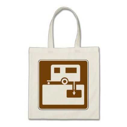 Caravan Park Sign Tote Bag - holidays diy custom design cyo holiday family