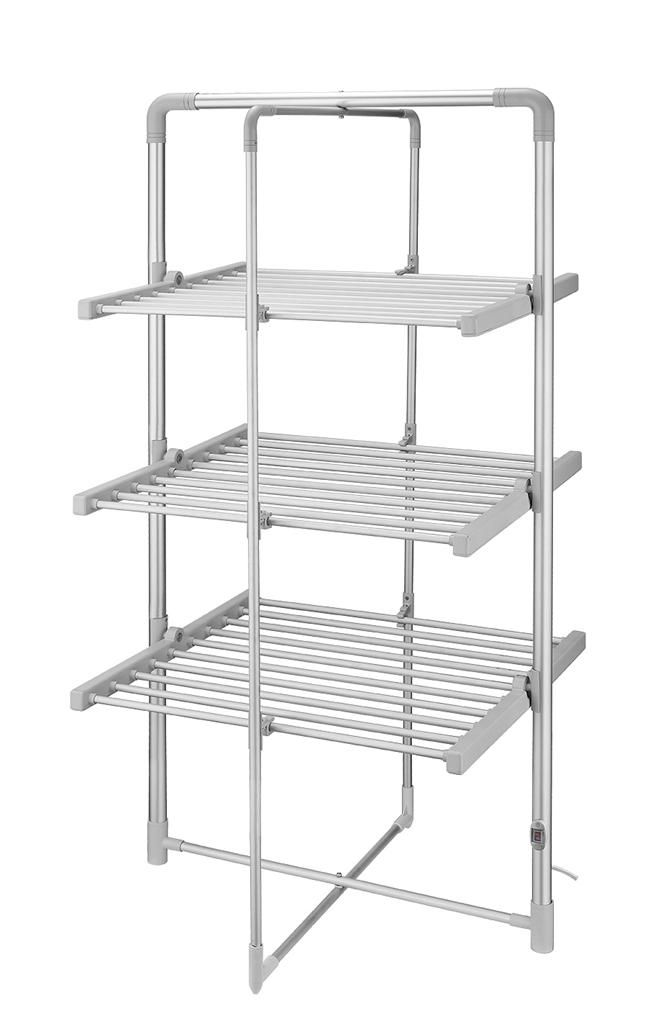 3 tier heated clothes airer