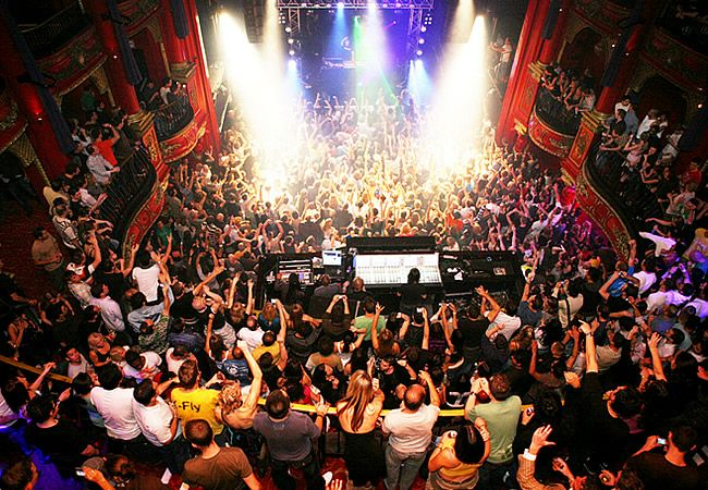 Koko Club, London...large club one of the most exhilarating music venues in London...space for up to 1400 people.