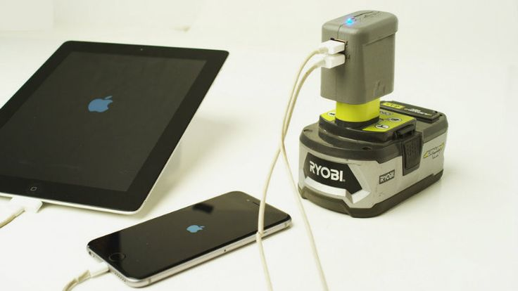USBeast: Use a Ryobi Battery as a USB Charger?