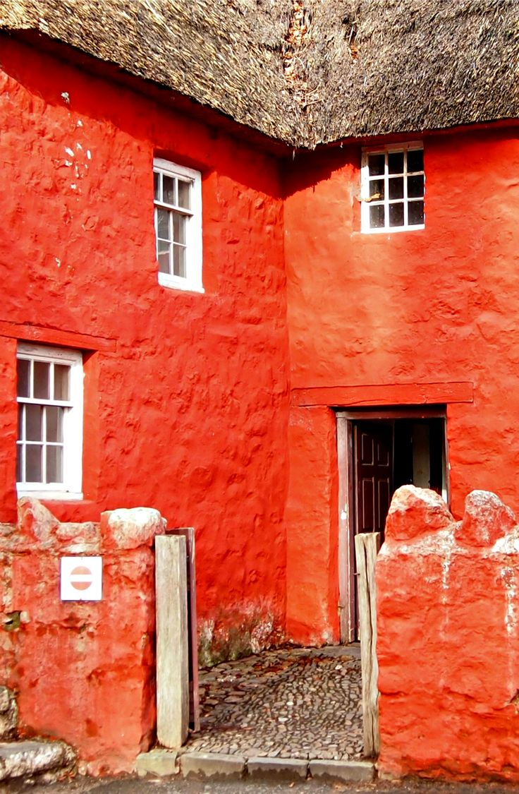 Welsh cottage at the Museum of Welsh Life, St Fagans near Cardiff. A fabulous free museum. Read more here. http://worldtravelfamily.com/time-travel-museum-welsh-life-st-fagans/
