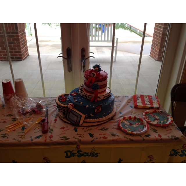 17 Best Images About Thing 1 & Thing 2 Baby Shower For Twins By Lala Kares Theme Parties In