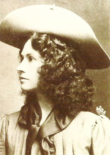 Annie Oakley (North Star, OH); sharpshooter and star of Buffalo Bill's Wild West Show