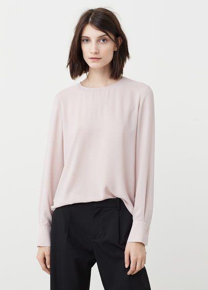 Струящаяся блузка