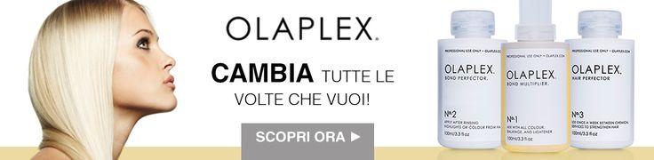 Oggi vuoi essere Bionda e domani Super Scura. Cambia tutte le volte che vuoi con Olaplex!! Il primo trattamento di ricostruzione istantanea.