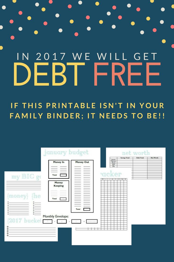 Get organized. Perfect printables for your family binder. Your finances are a foundation of your home - take control today!!